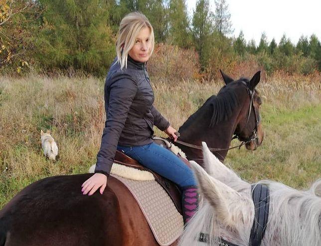 Ilona uwielbia jazdę konną
