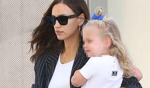 Irina Shayk z córką w Nowym Jorku