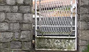 Absurd w Kcyni. Zbudowali chodnik, który utrudnia wyjście z posesji