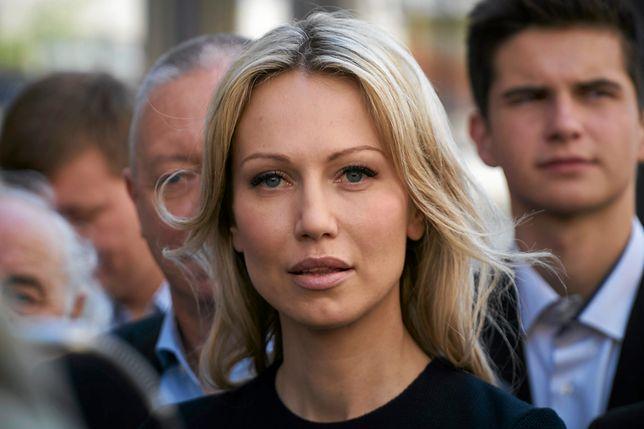 Magdalena Ogórek do tej pory nie chciała komentować incydentu sprzed siedziby TVP Info