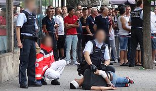 Domniemany zabójca z Reutlingen po schwytaniu przez policję