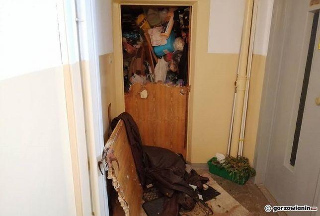 Wejście do mieszkania okazało się wyjątkowo trudne
