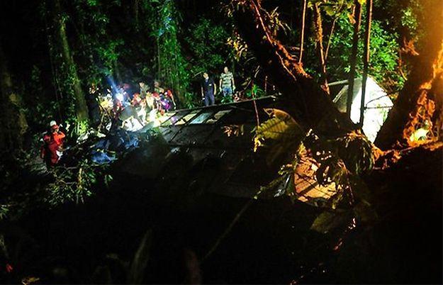 Ponad 50 osób zginęło w katastrofie autokaru w Brazylii