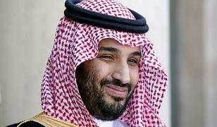 Saudyjski następca tronu książę Muhammad bin Salman