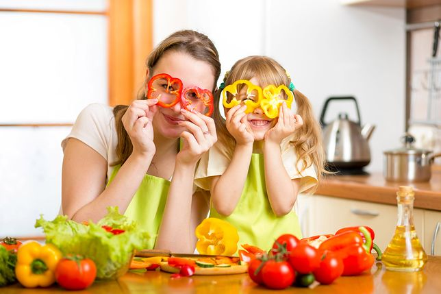 Przemycamy warzywa w diecie dziecka