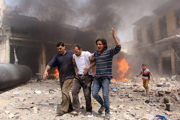 W nalotach sił rządowych w Syrii ciągu 48 godzin zginęło 100 cywilów