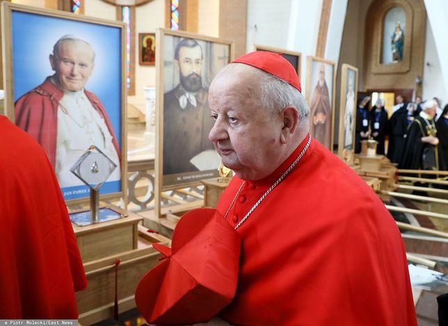 """Kardynał Stanisław Dziwisz został bohaterem reportażu TVN24 """"Don Stanislao""""."""