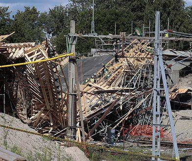 Wiadukt kolejowy w Ludvice po wypadku