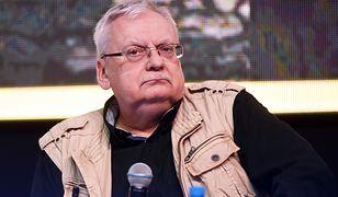 Andrzej Sapkowski podczas Warsaw Comic Con 2018