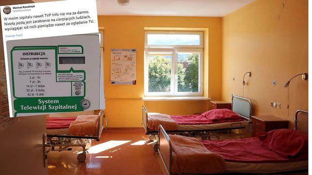 Szpitalna telewizja działa już w kilkudziesięciu miastach. Nieźle na tym zarabia