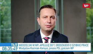 Sejm. Władysław Kosiniak-Kamysz o zamieszaniu wokół ustaw antycovidowych