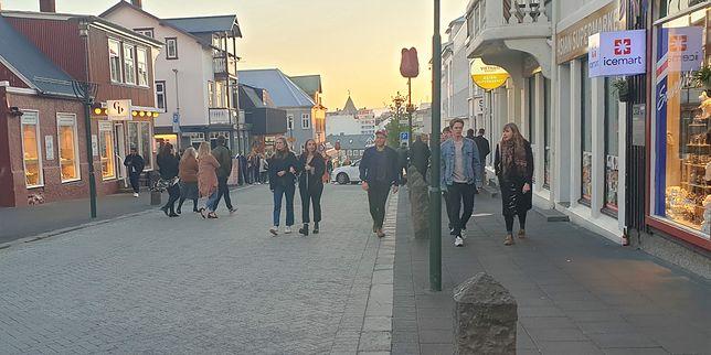 Islandia. Ulice Reykjaviku odżyły po pandemii