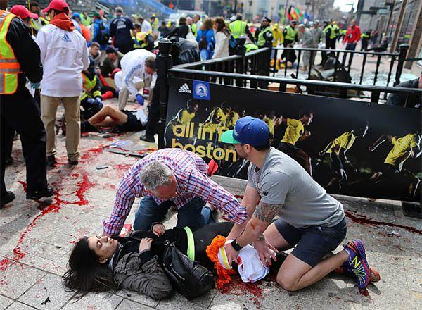 Zamach na maratonie w Bostonie