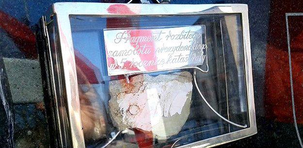 Fragment tupolewa ze Smoleńska w Kościerzynie. Sprawą zajmie się prokuratura wojskowa