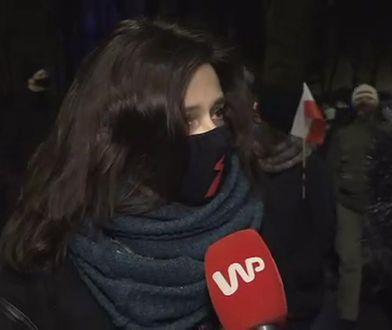 """Renata Dancewicz na proteście pod TK: """"Stała się rzecz haniebna"""""""