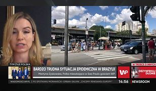 Jak wygląda sytuacja pandemiczna w Brazylii,  opowiada Polka mieszkająca w Sao Paulo