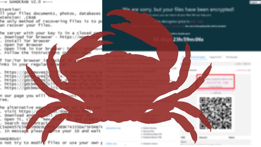 GandCrab szyfrował dyski