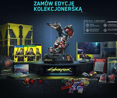 Zobacz edycję kolekcjonerską z Cyberpunk 2077 z bliska