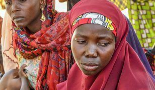 Kobiety w obozie utrzymywanym przez nigeryjską armię