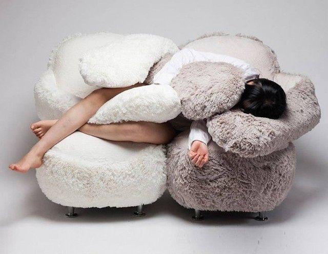 Meble wypoczynkowe - sprytna sofa