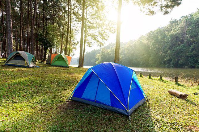 Namiot musi być odpowiedniej wielkości i być niezawodny