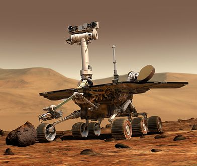 Łazik Opportunity zakończył swoją misję na Marsie zakopany w piasku. Badał planetę przez 15 lat