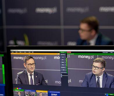 Daniel Obajtek, prezes PKN Orlen w studio money.pl podczas Kongresu 590