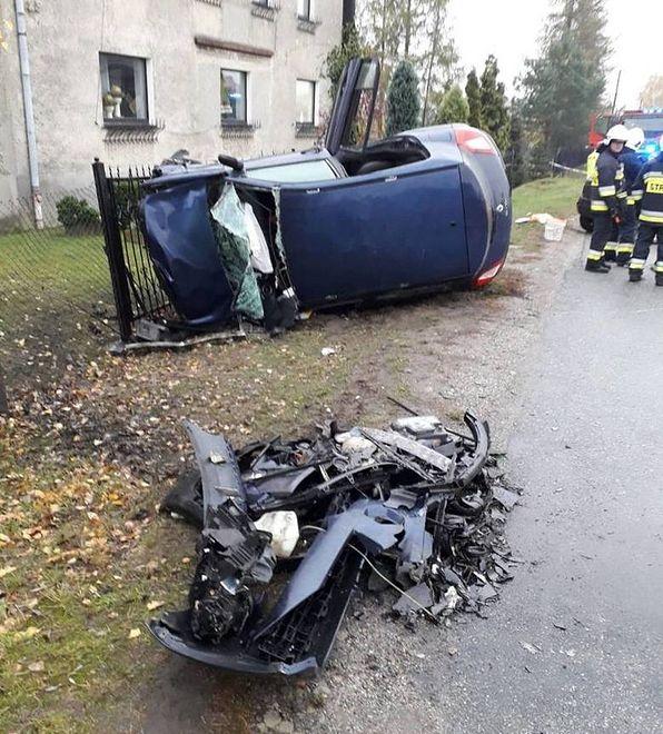 Wypadek w Raciborzu.
