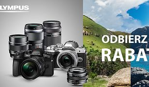 Kup wybrany aparat Olympus i odbierz rabat do 1500 zł