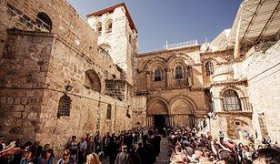 Jerozolima - naukowcy badają wnętrze najważniejszej świątyni chrześcijańskiej