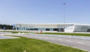 Budynek terminalu lubelskiego portu lotniczego w Świdniku
