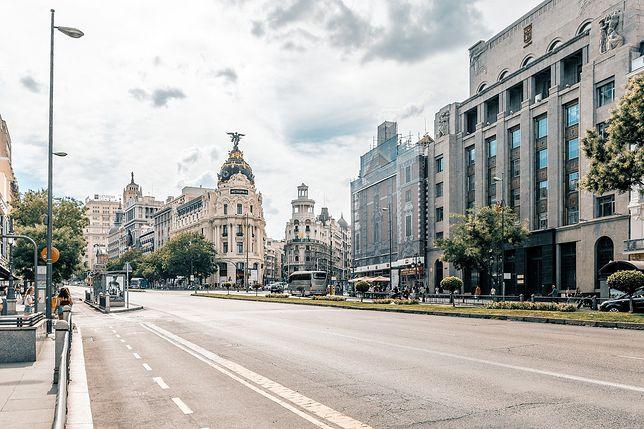 Koronawirus w Hiszpanii: rząd wprowadził stan wyjątkowy w Madrycie