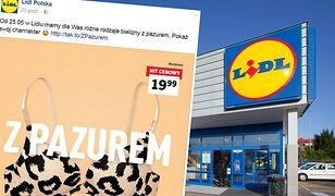 """Nowa promocja bielizny w Lidlu. Klienci narzekają: Tylko na """"rodzynki"""" szyjecie?"""