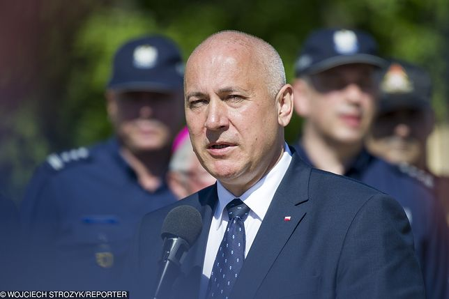 Jest wniosek o ochronę dla byłego agenta CBA. Co zrobi minister Brudziński?