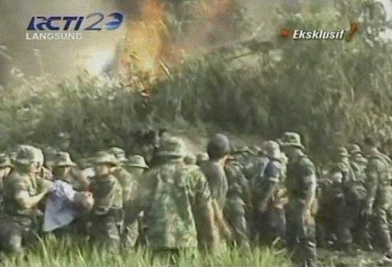 Tragiczna katastrofa samolotu - zdjęcia