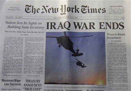 """Nabrali miliony ludzi na fałszywego """"New York Timesa"""""""