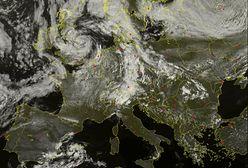Brytyjski cyklon zamiata ogonem chmur po Europie. Zepsuje pogodę w Polsce
