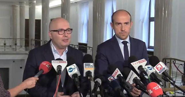 Borys Budka i Robert Kropiwnicki przekonywali, że PiS może zagrać nieczysto ws. KRS