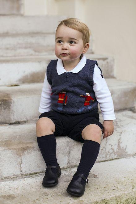 Książę Jerzy już czeka na Świętego Mikołaja!