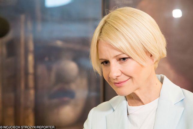 Małgorzata Kożuchowska pokazała się w nowej fryzurze. Jednak nie we wszystkim jej do twarzy