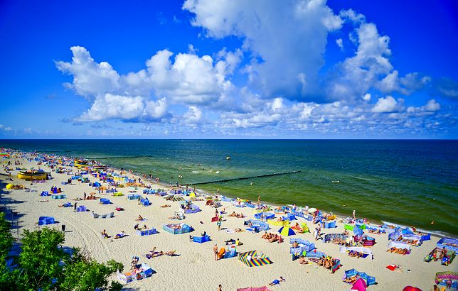 plaża, bałtyk, morze