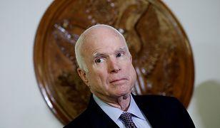 Amerykański senator jest chory na raka mózgu. Właśnie przerwał terapię