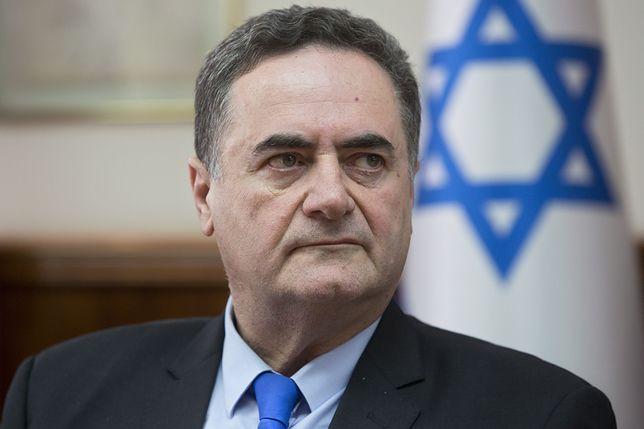 """Minister Israel Katz. To od jego słów o """"antysemityzmie wyssanym przez Polaków z mlekiem matki"""" rozgorzał spór dyplomatyczny Polska-Izrael."""