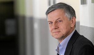 Prof. Andrzej Zybertowicz swoją wypowiedzią o cenzurze internetu wywołał burzę.