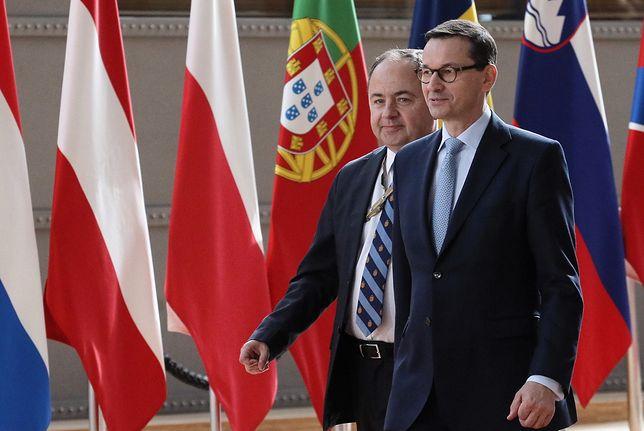 Mateusz Morawiecki na szczycie UE