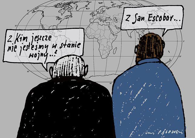 """""""PiS poszedł na wojnę z całym światem. Dobrze, że minister Waszczykowski odkrył San Escobar"""""""