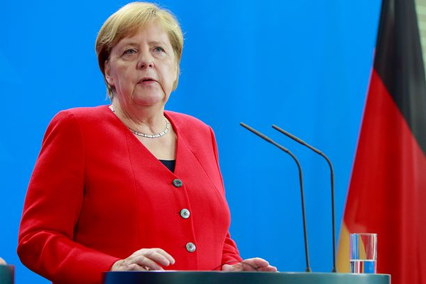 Angel Merkel (Photo by Christian Marquardt/NurPhoto via Getty Images)