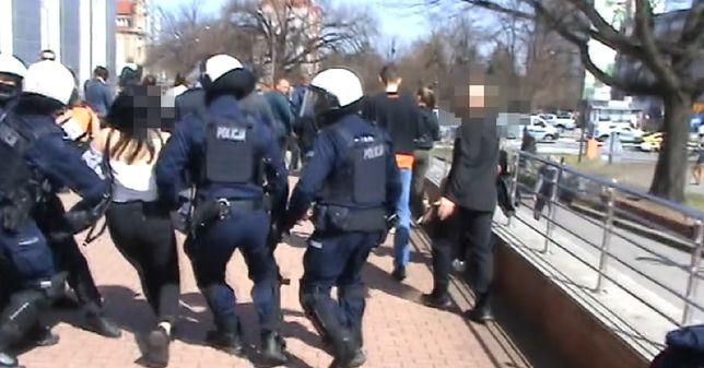 Interwencja w Głogowie. Policja publikuje film