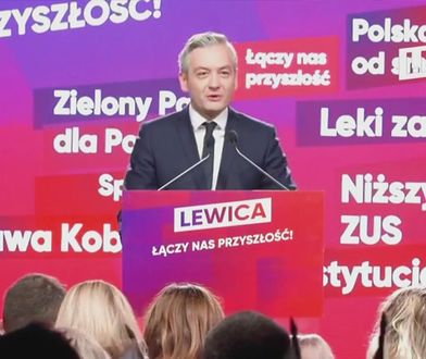Wybory parlamentarne 2019. Robert Biedroń: Let's make Poland great again