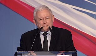 """Wybory parlamentarne 2019. Jarosław Kaczyński: zza pleców słychać wilka. """"Manipulują Polakami"""""""